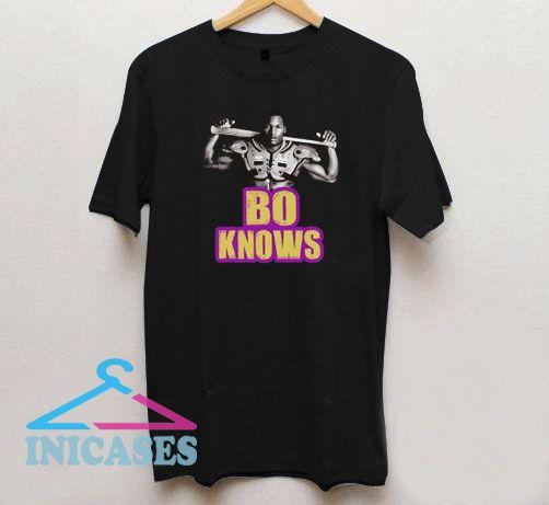 Bo Knows Bo Jackson T Shirt