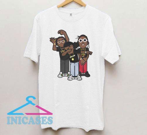 Cartoon Migos T Shirt