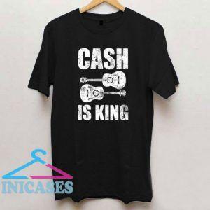 Cash is King Johnny Cash T Shirt