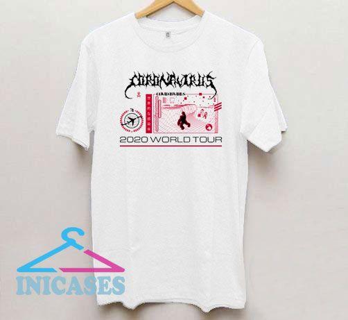 Corona Virus 2020 World Tour Covid 19 Virus T Shirt
