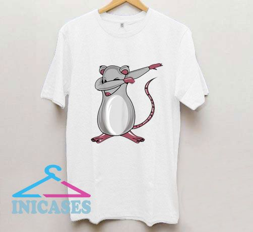 Dabbing Mouse Rat T Shirt