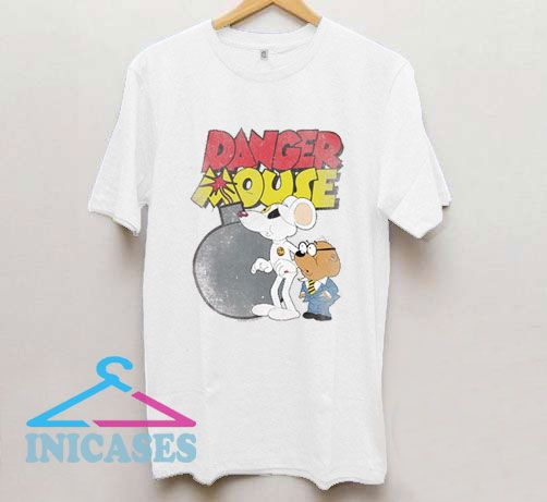 Danger Mouse Danger Bomb T Shirt