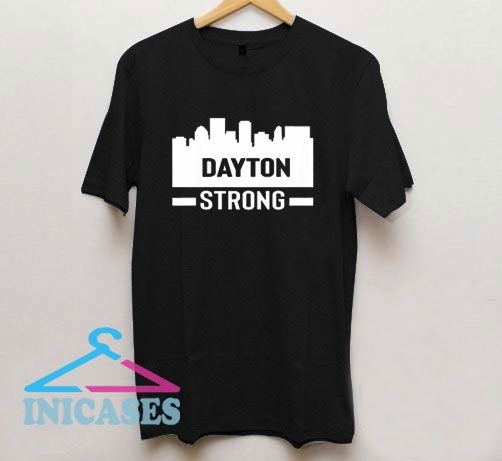 Dayton Ohio Strong City Draw T Shirt