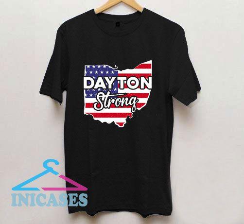 Dayton Strong American Flag T Shirt