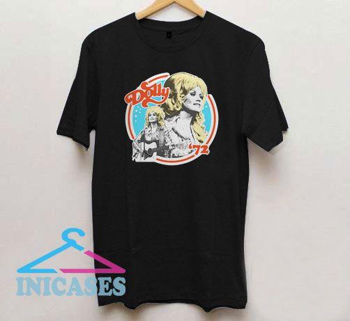 Dolly Parton 72 Circle Logo T Shirt