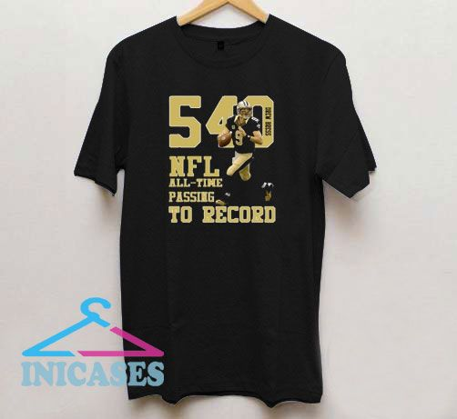 Drew Orleans All Time Passing T Shirt