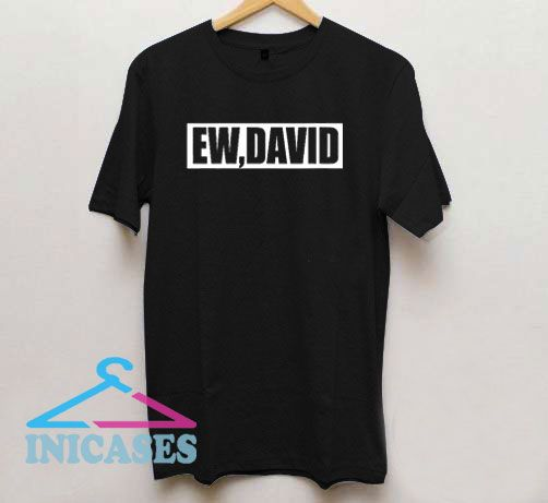 Ew David Box Logo T Shirt