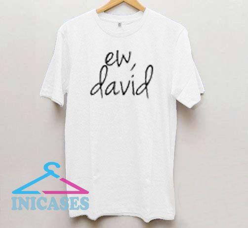 Ew David Logo T Shirt