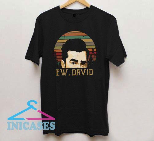Ew David Vintage Logo T Shirt
