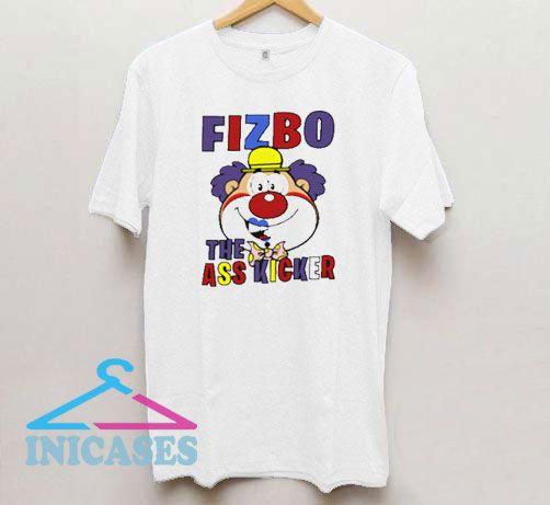 Fizbo The Ass Kicker Clown Graphic T Shirt