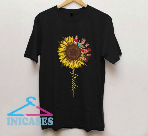 Frida Kahlo Sunflower T Shirt
