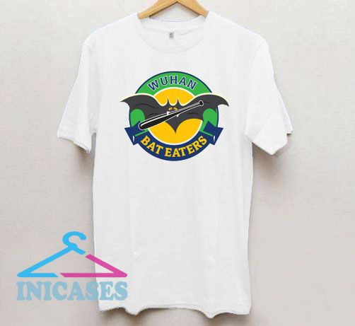 Funny Wuhan Bat Eaters Logo T Shirt