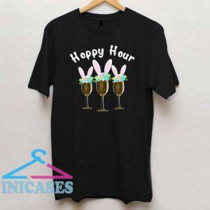 Happy Bunny Wine Drinking T Shirt
