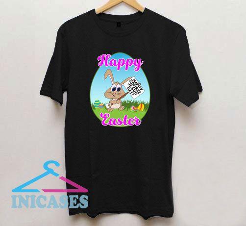 Happy Zombie Jesus Day Bunny T Shirt