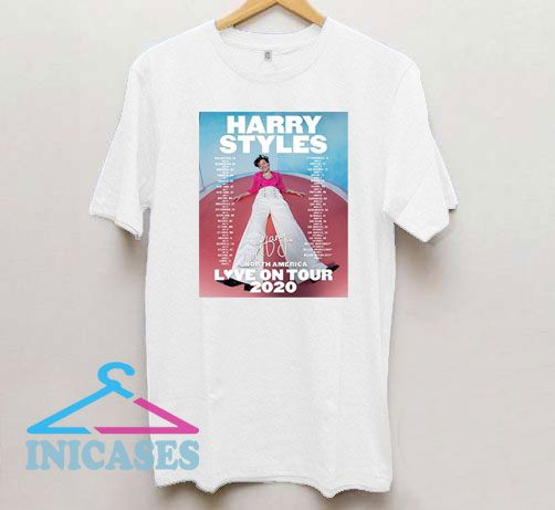 Harry Styles Love On Tour 2020 T Shirt