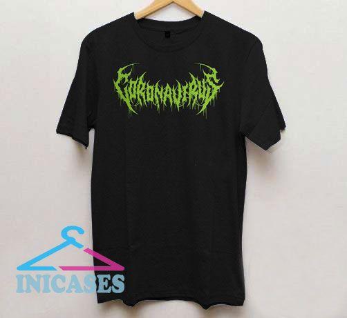 Heavy Metal Coronavirus Rock Band T Shirt