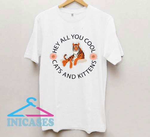 Hey All You Cool Cats and Kittens Circle Logo T Shirt