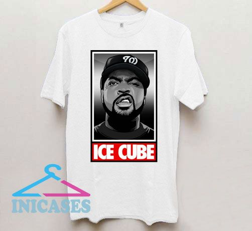 Ice Cube Obey Logo T Shirt