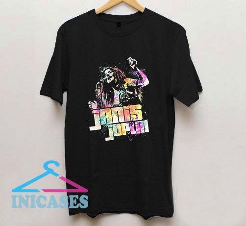 Janis Joplin Psychedelic Vintage T Shirt