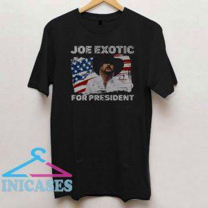 Joe Exotic For President 2020 American Flag T Shirt