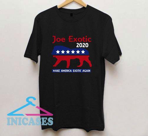 Joe Exotic Tiger King Make American Exotic Again T Shirt