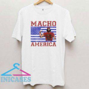 Macho Man Macho America T Shirt