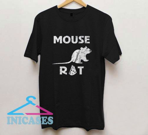Mouse Rat Funny Cheese T Shirt