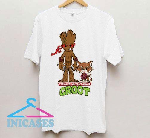 Mutant Ninja Groot T Shirt