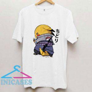 Naruto Pikachu T Shirt