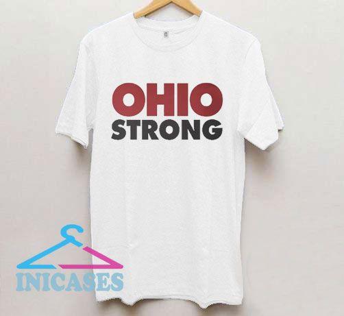Ohio Strong Logo Font T Shirt