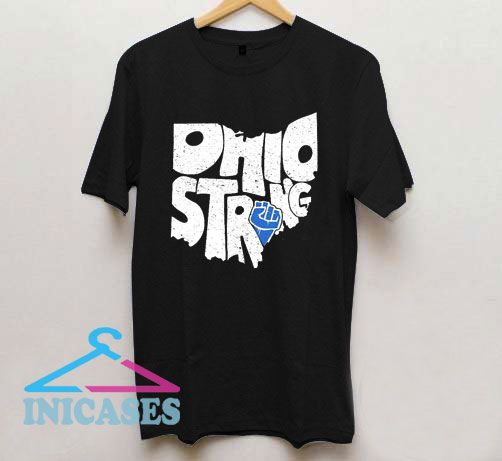 Ohio Strong Vintage Logo T Shirt