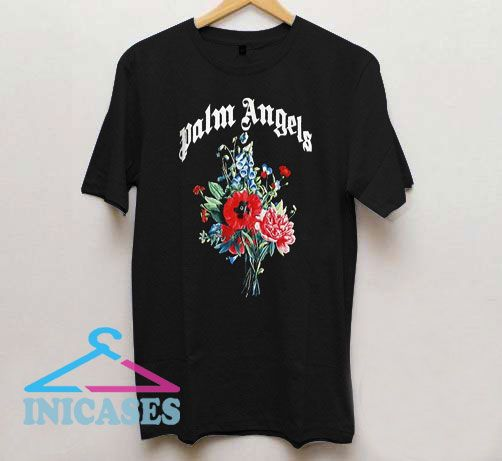Palm Angels Flowers T Shirt