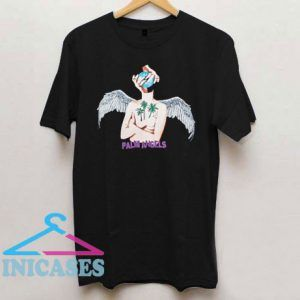 Palm Angels LA angel print T Shirt