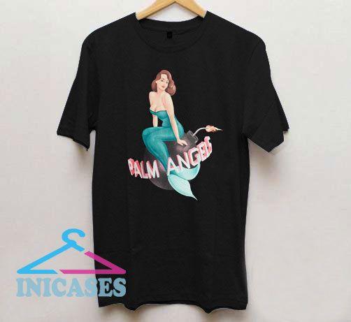 Palm Angels Logo Mermaid T Shirt