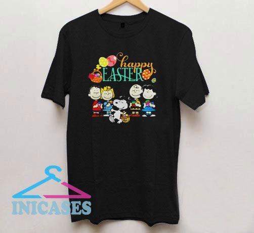 Peanuts Happy Easter T Shirt