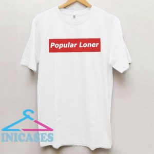 Popular Loner Box Logo T Shirt