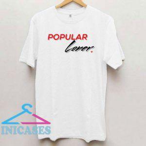 Popular Loner Broke Heart Logo T Shirt