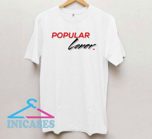 Popular Loner Broke Heart Logo T Shirt