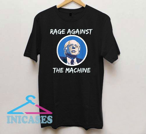 Rage Against Bernie The Machine Circle Logo T Shirt