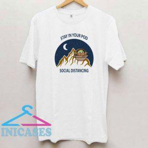 Social Distancing Baby Yoda T Shirt