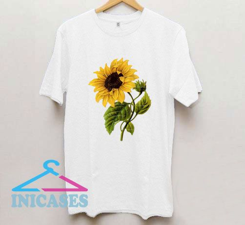 Sunflower Vintage Botanicals T Shirt