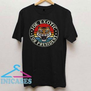 Tiger King Joe Exotic For President Vintage T Shirt