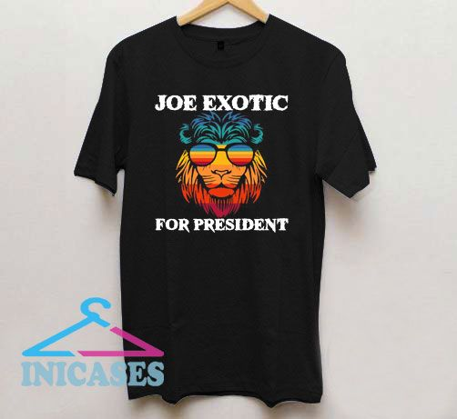 Tiger King Joe Exotic for president Rainbow T Shirt