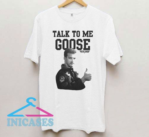 Top Gun Talk To Me Goose Photo T Shirt