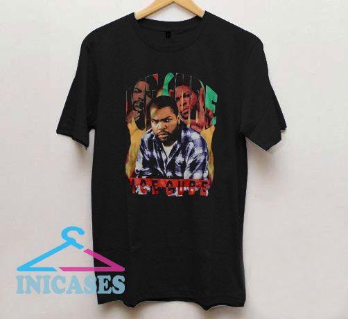 Vintage Style Ice Cube Rap T Shirt