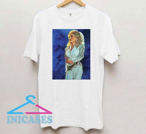 White Limozeen Dolly Parton T Shirt