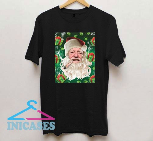 Willie Nelson Christmas T Shirt