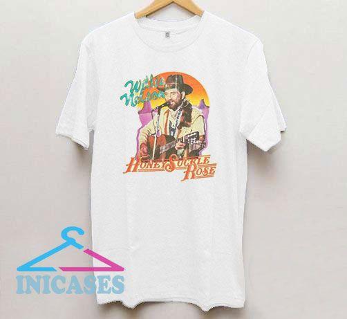 Willie Nelson Honeysuckle Rose T Shirt