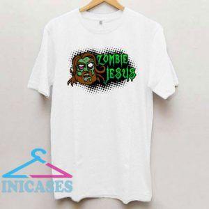 Zombie Jesus Cartoon T Shirt