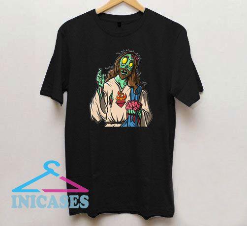 Zombie Jesus Halloween T Shirt